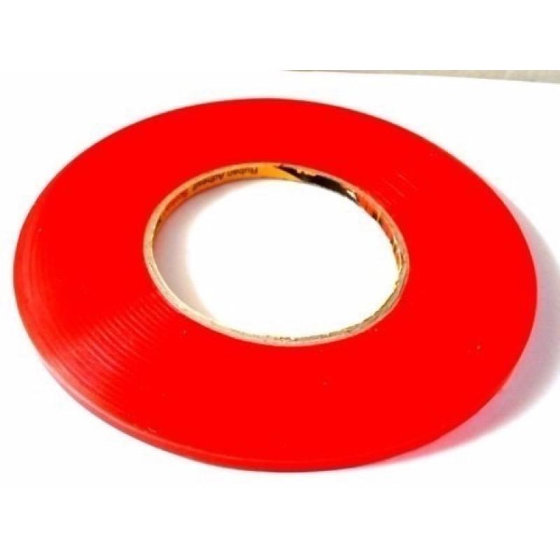Rolo De Fita Adesiva Dupla-Face Red 0,3 Cm