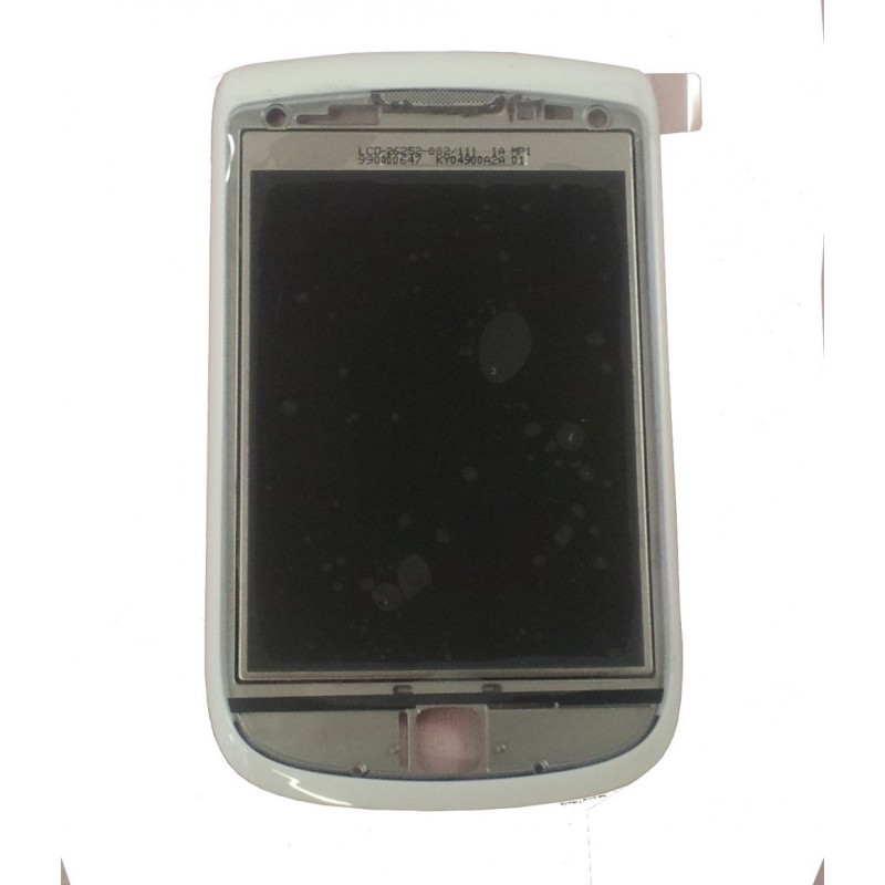 BlackBerry 9800 LCD com Frontal Preto