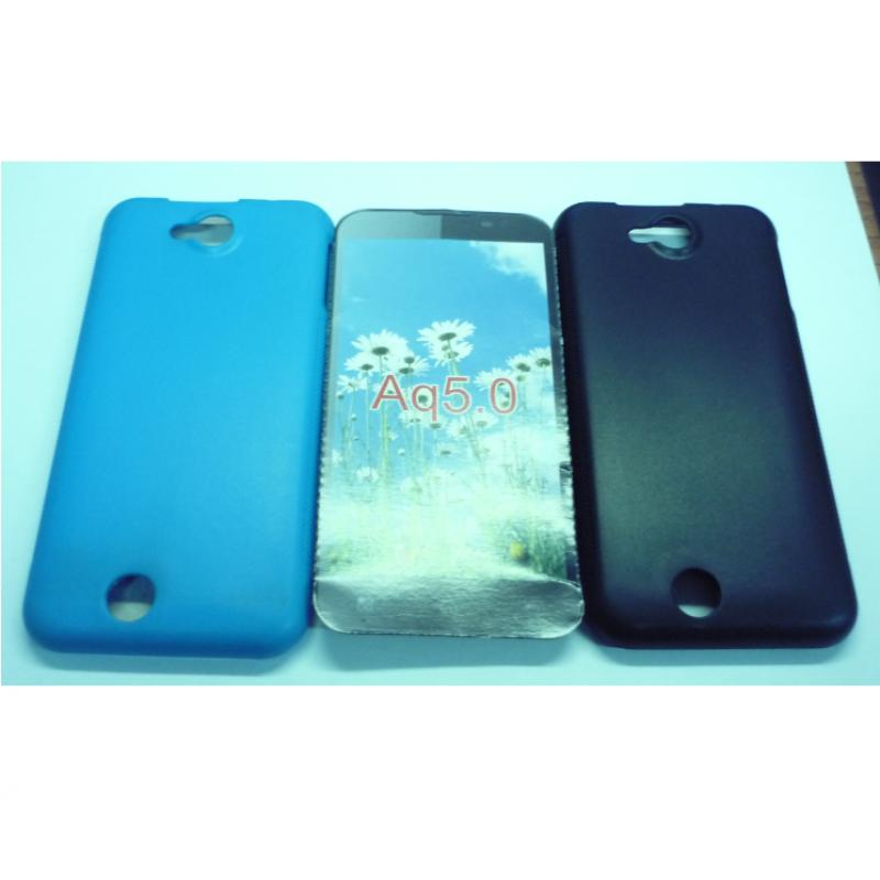 BQ Aquaris 5 Capa Protecção Azul