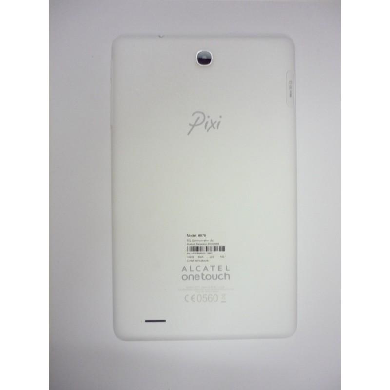 Alcatel One Touch Pixi 3 8'' (8070) Tampa Traseira c/buzzer Branca Original