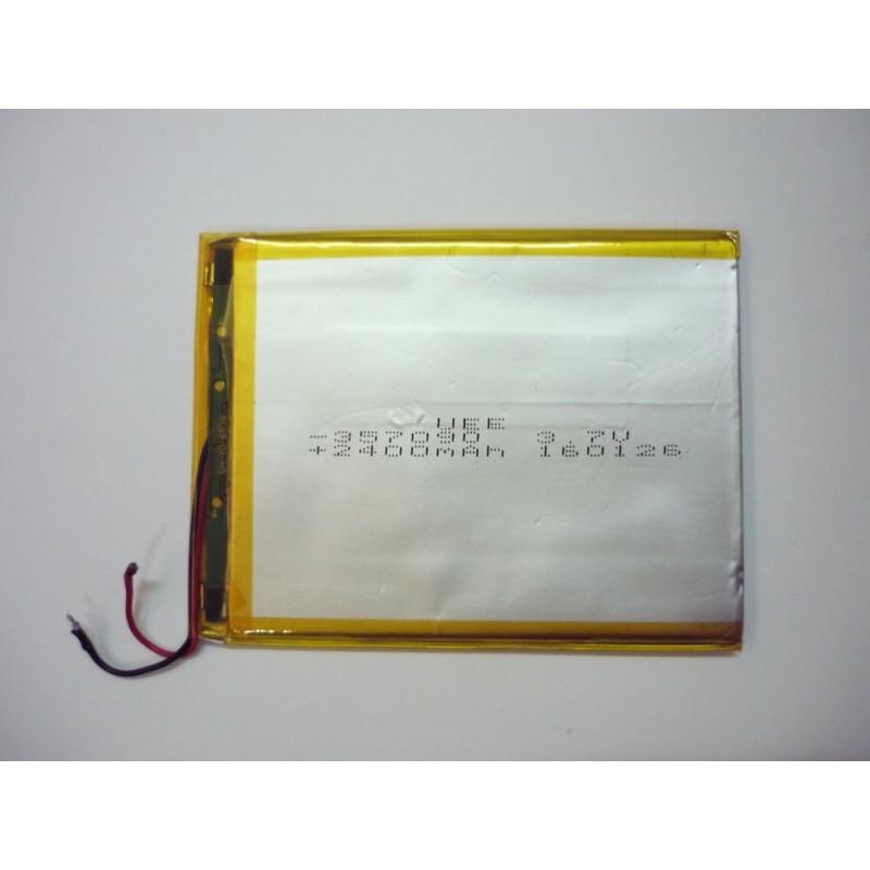 Bateria Tablet 3.7V 2400mAh