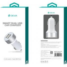Devia Adaptador De Viagem  USB 1.0A  Branco