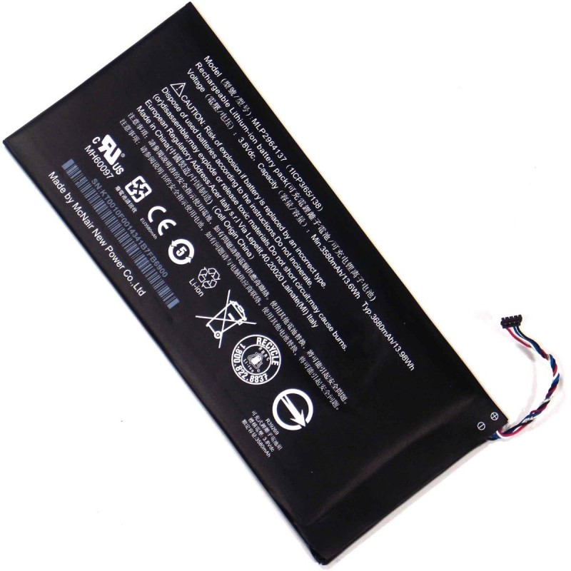 Acer Iconia One 7 B1-730 Bateria