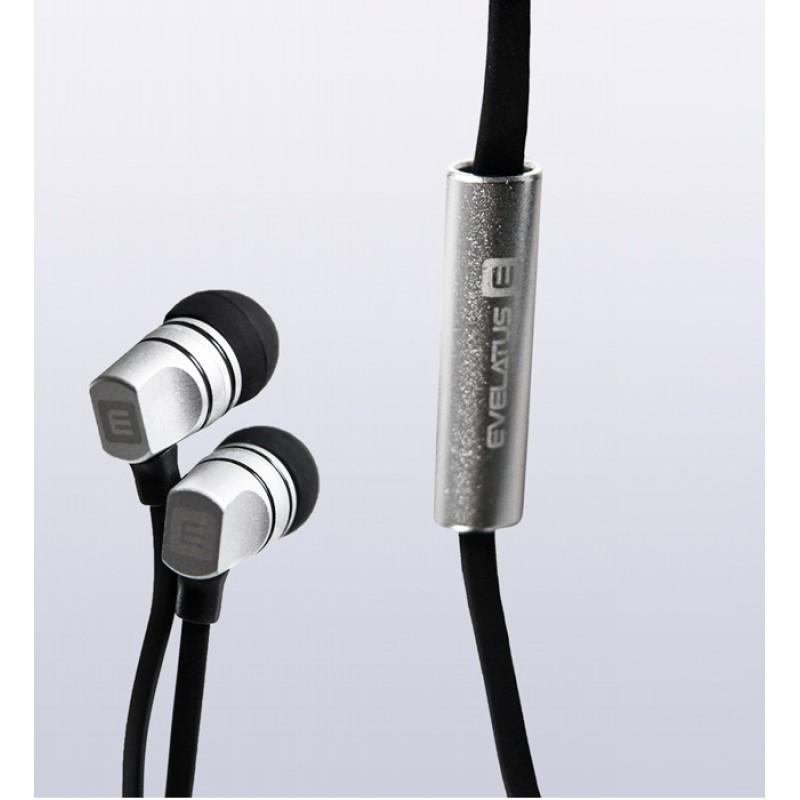 Auricular Evelatus EEP01 com microfone Black