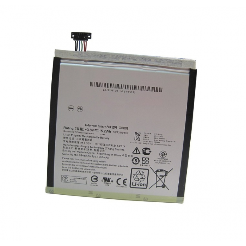 Asus Zenpad 8, Z380 Bateria C11P1505