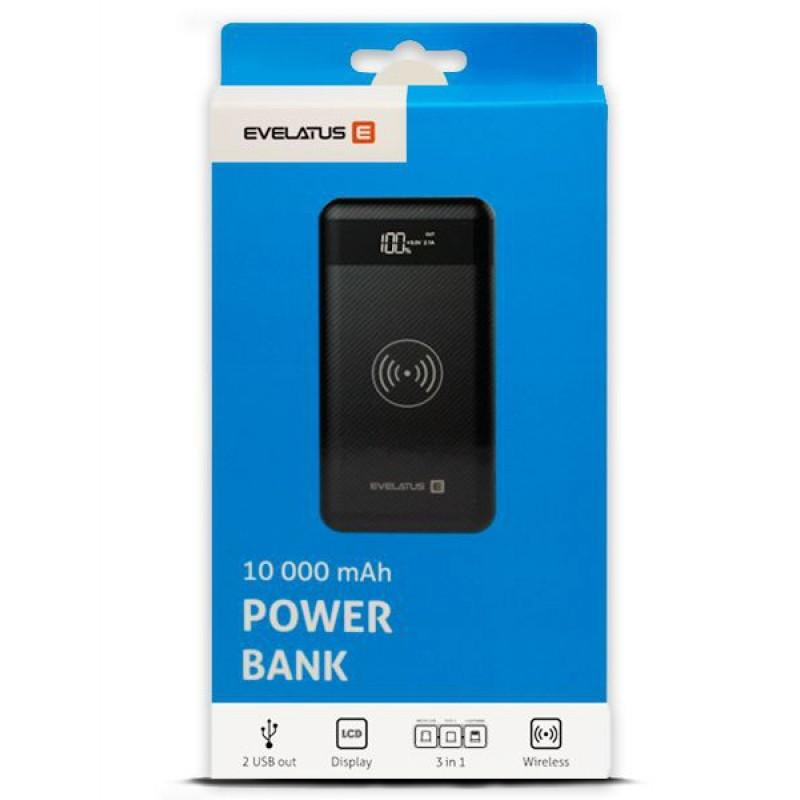 Power Bank EPB03 10000mAh Wireless Evelatus