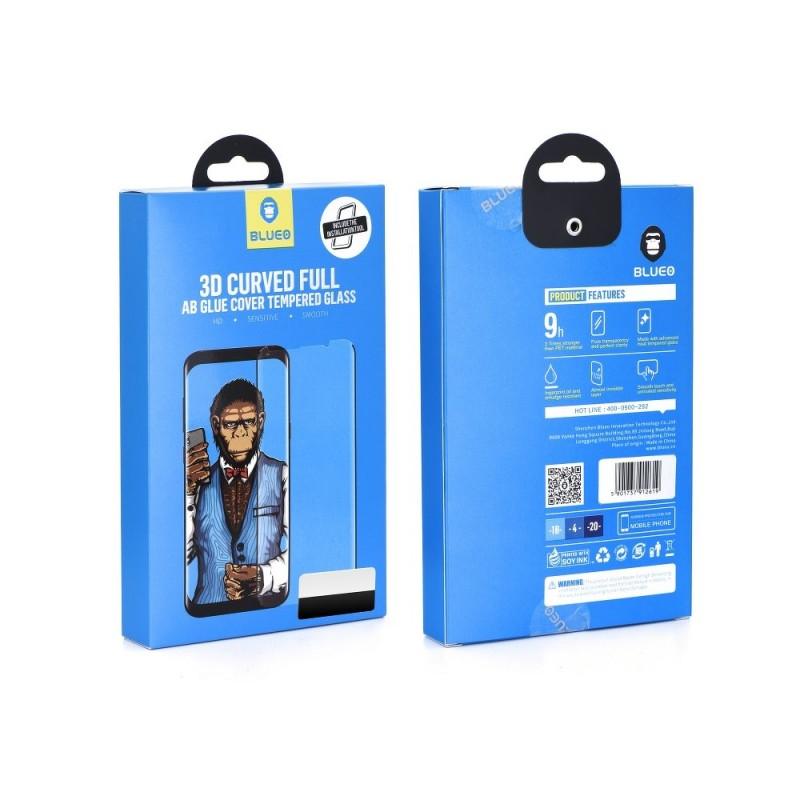 Samsung Note 9 N960 Pelicula de Vidro 5D Preta Full AB Glue
