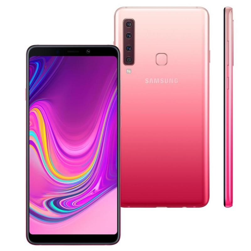 Telemóvel Samsung A9 A920F 128GB Pink   Livre