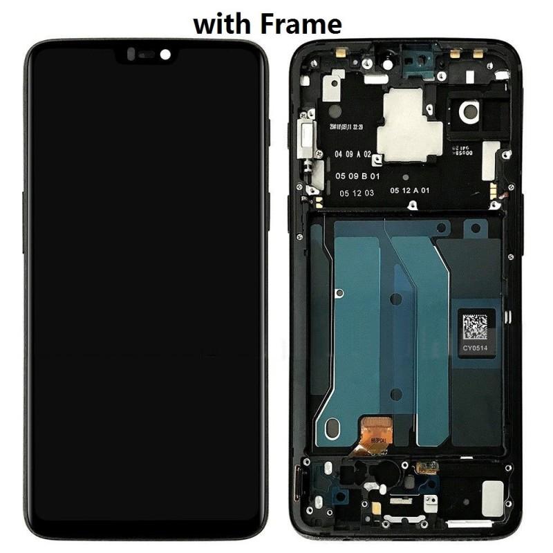 Cyanogen Oneplus 6 A6003 LCD + Touch Preto