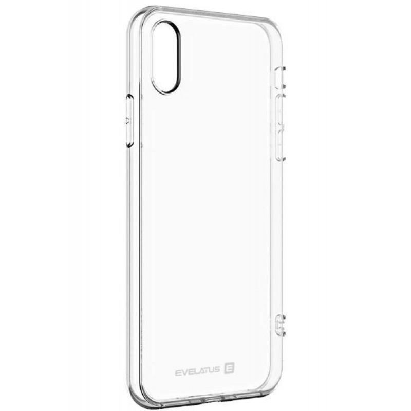 Samsung J6 Plus Capa de Proteção Traseira Evelatus Silicone Case Transparente