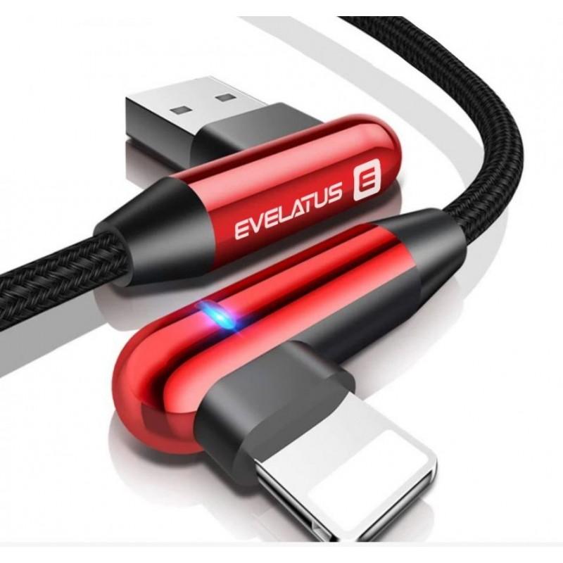 Cabo de Dados USB Evelatus MFI05  Vermelho