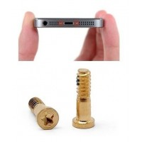 iPhone 5s Parafusos Kit de 2 Dourado