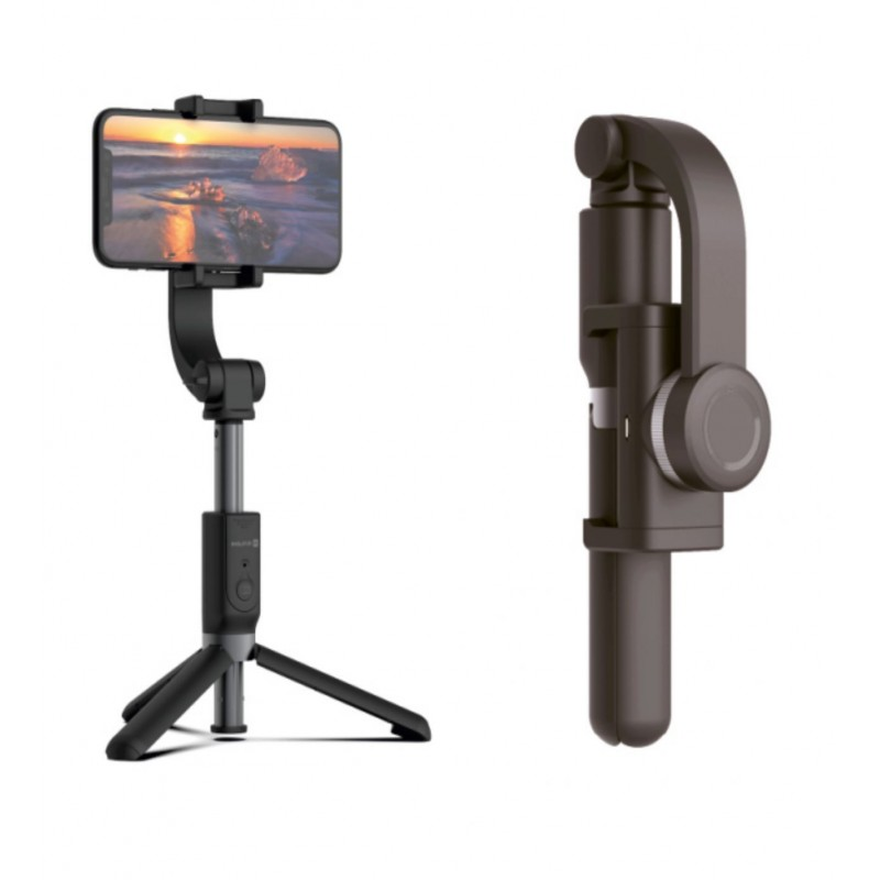 Evelatus Tripod Selfie Stick com Estabilizador ETS01 Black
