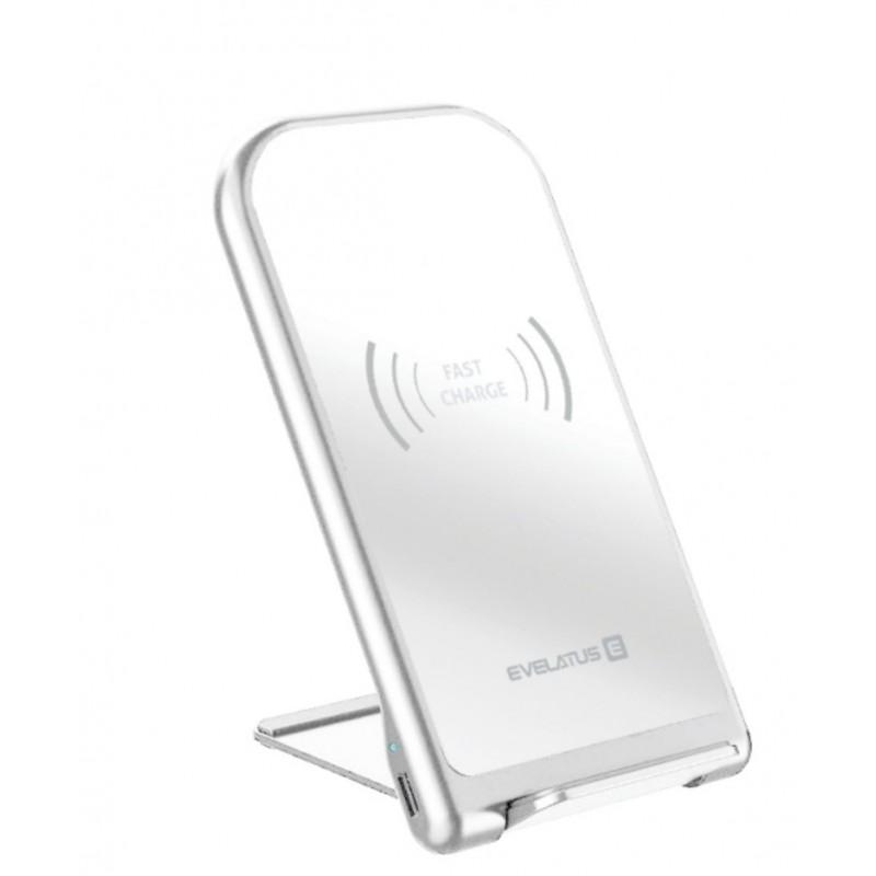 Carregador Wireless de Secretária  EWD01 Evelatus White