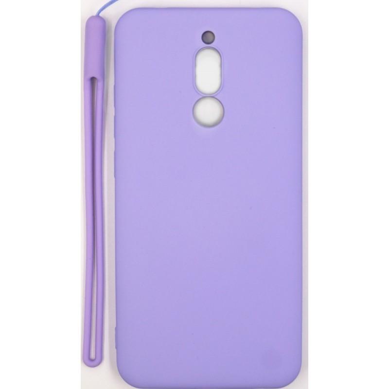 Samsung A10 Capa de Proteção Evelatus Soft Touch Silicone Purple