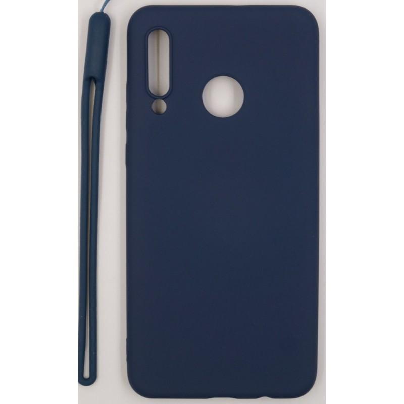 Samsung A10 Capa de Proteção Evelatus Soft Touch Silicone Dark Blue