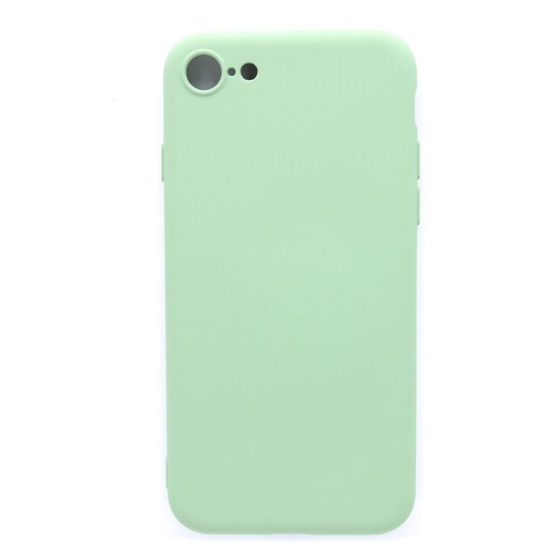 iPhone 7/8 Capa de Proteção Evelatus Soft Silicone Mint