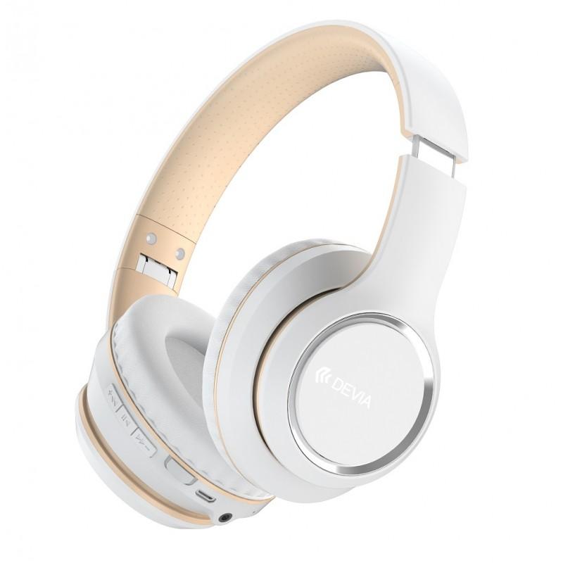 Auscultadores Devia Kintone series wireless TWS 5.0 White