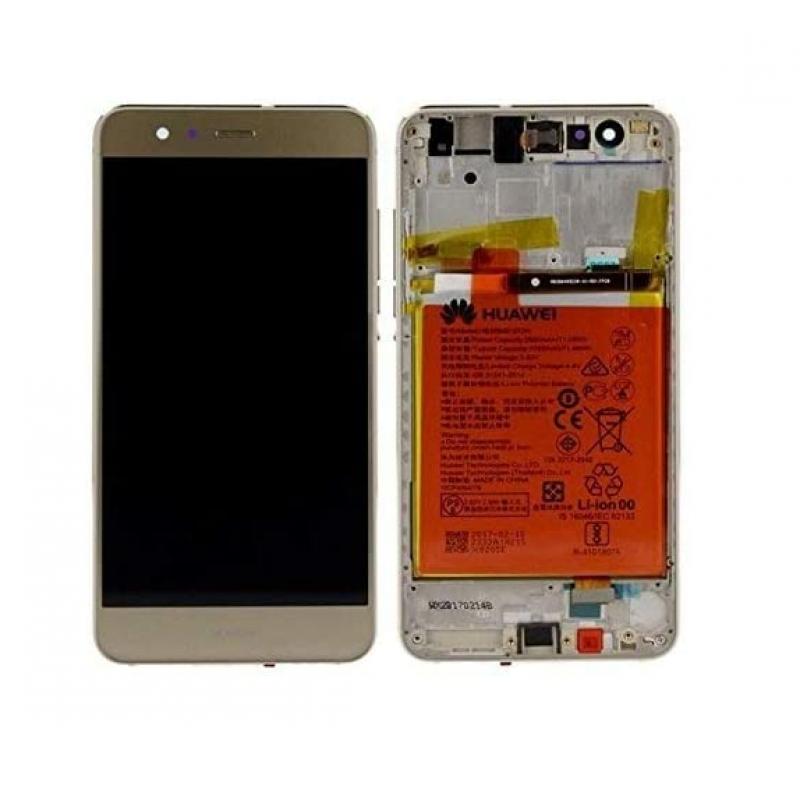 Huawei P10 Lite LCD Dourado Original