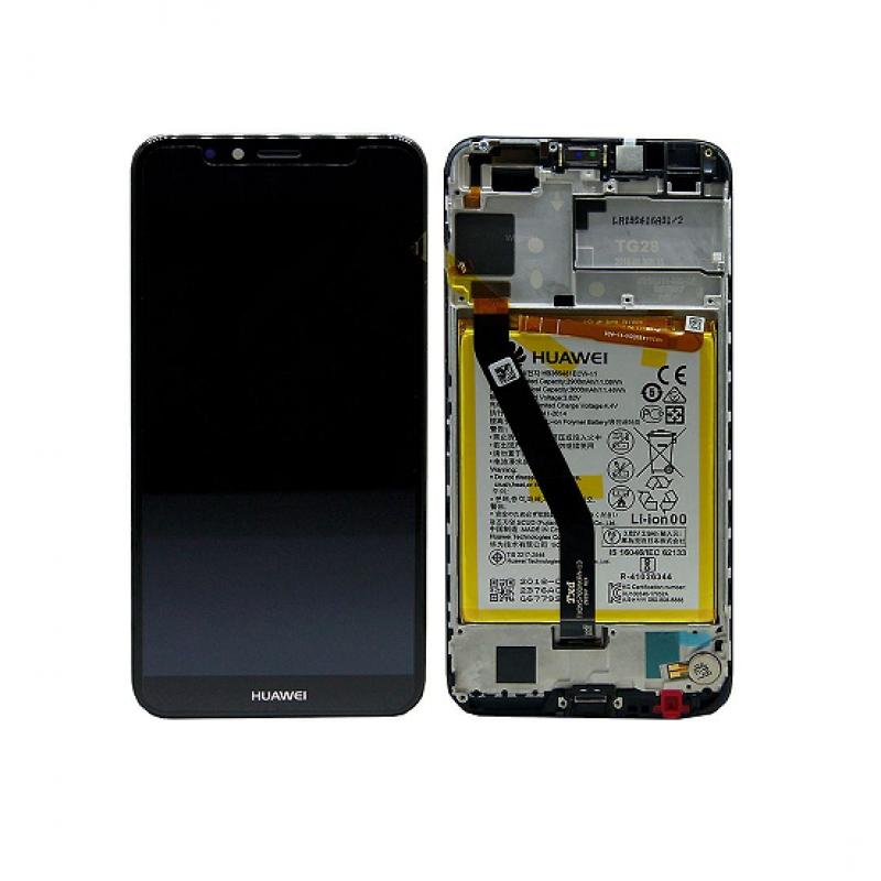 Huawei Y6 2018 LCD Preto Original