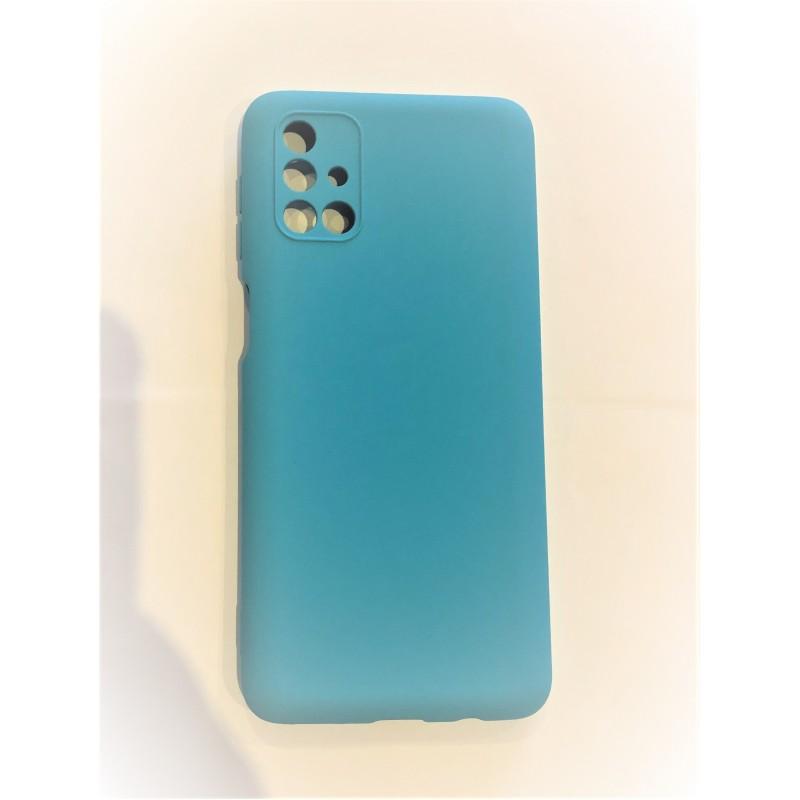 Samsung M31S Capa de Proteção Azul Claro