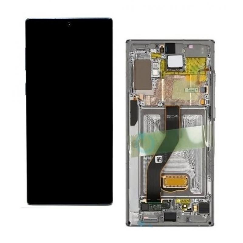 Samsung Galaxy Note 10 Plus 2019 N975f LCD Silver Original