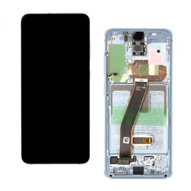 Samsung Galaxy S20 G980f / G981f LCD Branco Original