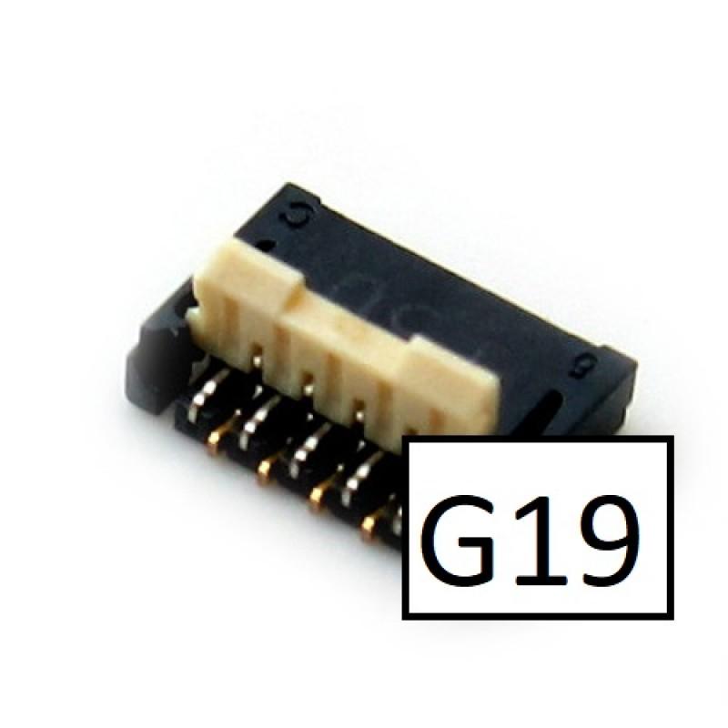 HTC G19 Radar Conector LCD da Board