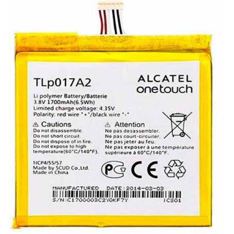 Alcatel OT- 6030 Bateria Original