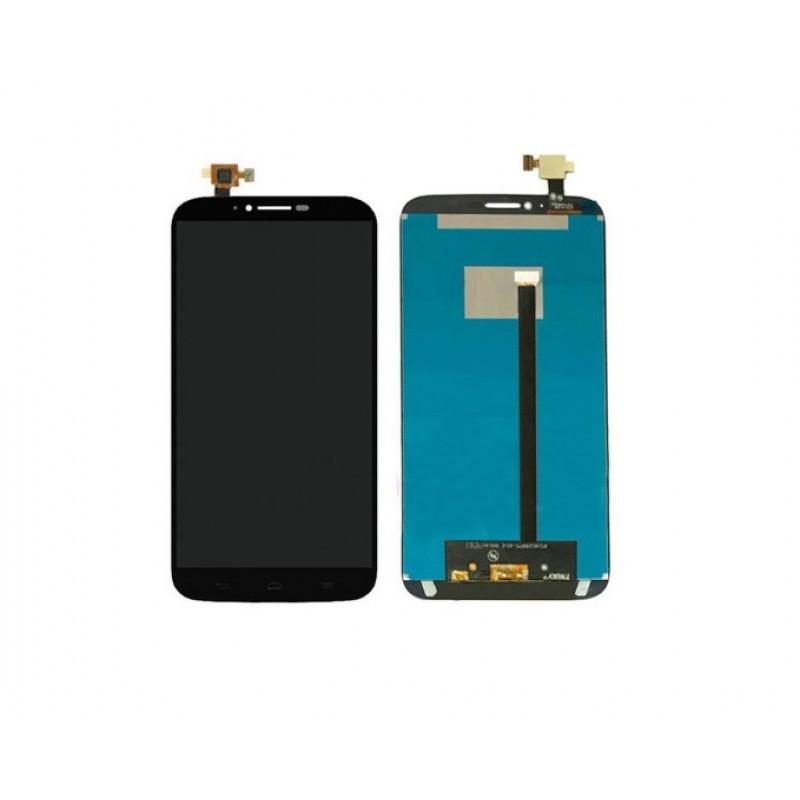 Alcatel OT Hero 2, 8020 8030 LCD + Touch Preto