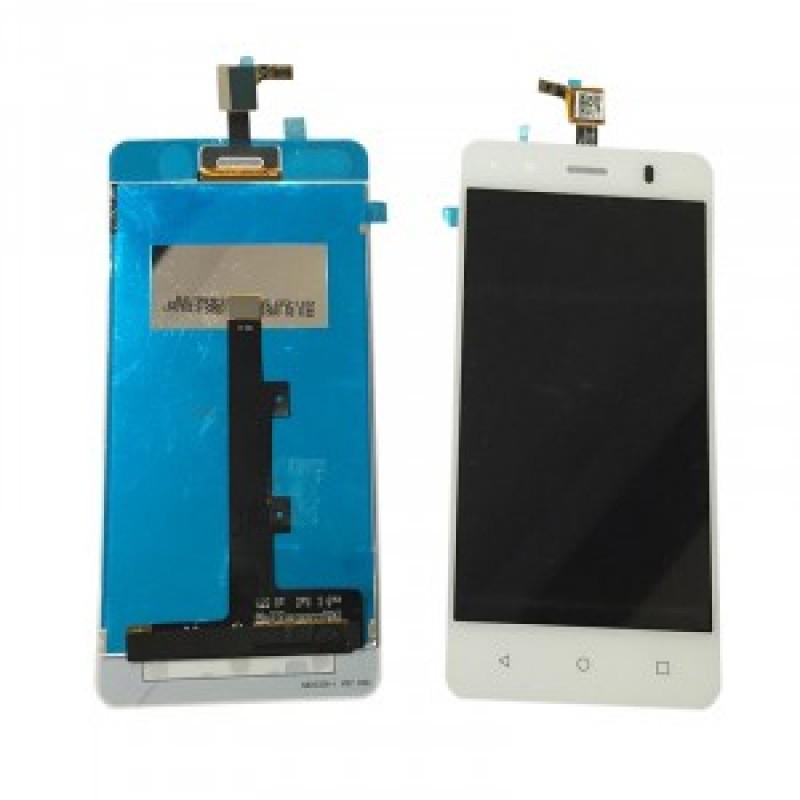 BQ Aquaris M4.5 LCD + Touch Branco  Também compatível com BQ Aquaris A4.5