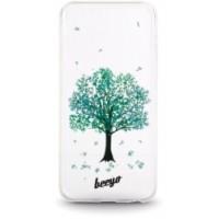 Huawei P9 Lite Capa Protecção Beeyo Transparente - Árvore