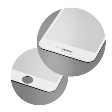 iPhone 6/6s Película 5D de Vidro Temperado Branco
