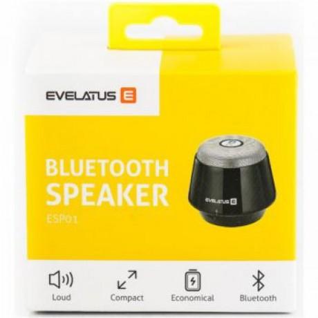 Coluna Bluetooth Evelatus ESP01 Silver