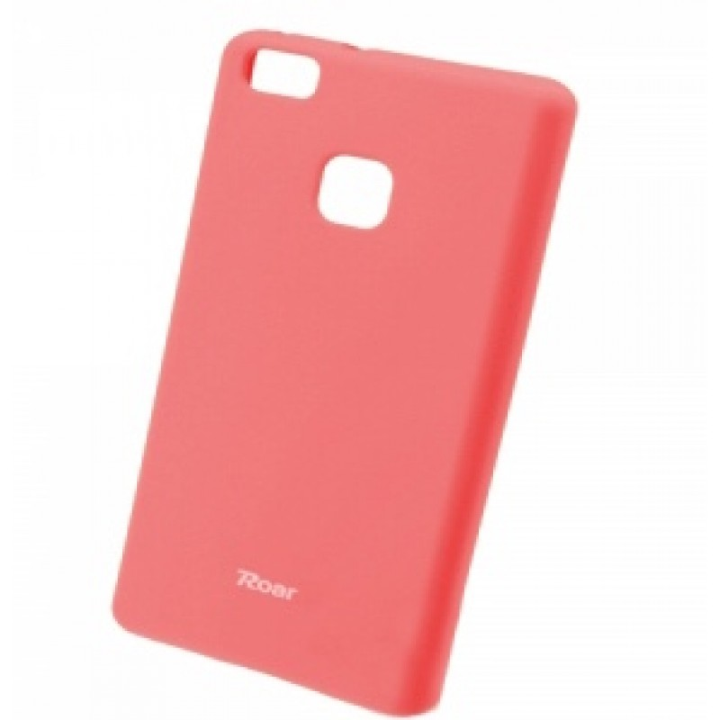 Huawei P9 Lite Capa de protecção traseira Roar Colorful Jelly Rosa