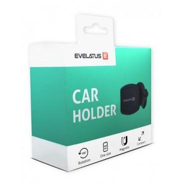 Suporte de Carro Magnético Evelatus ECH02 Preto
