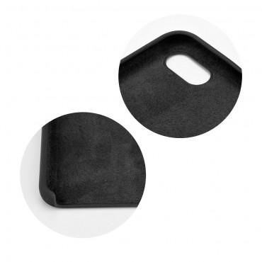 iPhone 5 / 5S / SE Capa de Proteção Traseira Preta Forcell Silicone