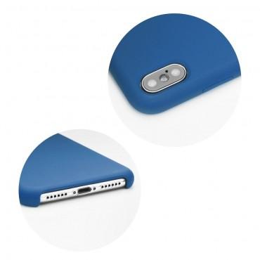 iPhone 5 / 5S / SE Capa de Proteção Traseira Azul Forcell Silicone