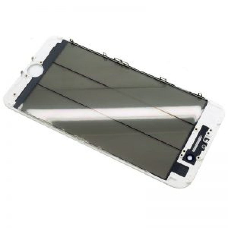 Iphone 5s Vidro + Frame + Oca + Polarizer Branco