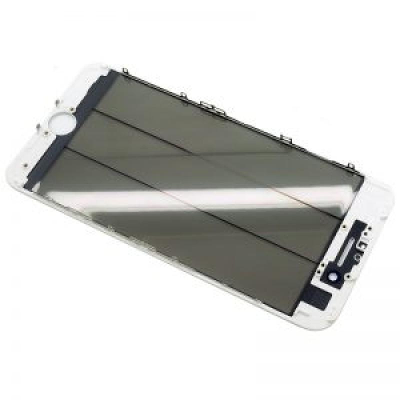 Iphone 7 Vidro + Frame + Oca + Polarizer Branco