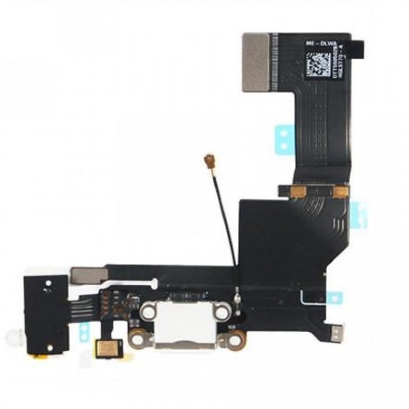 iPhone SE Flex Conector de Carga Branco