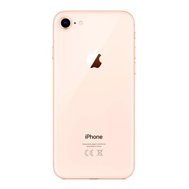 iPhone 8 Tampa Traseira Dourada