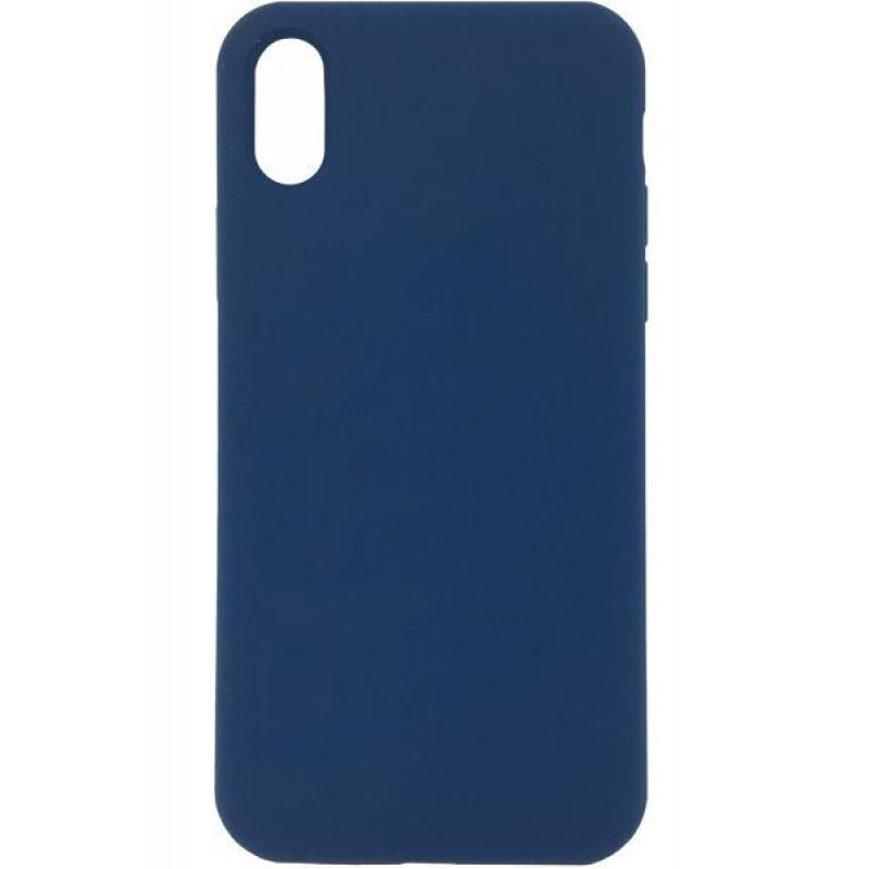 iPhone 7Plus/8Plus Capa de Proteção Traseira Evelatus Soft Case Blue Cobalt