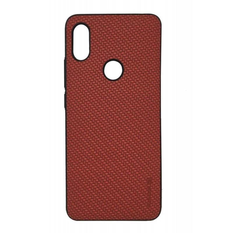 iPhone 6/6S Capa de Proteção Traseira Evelatus Case With Metal Plate Red