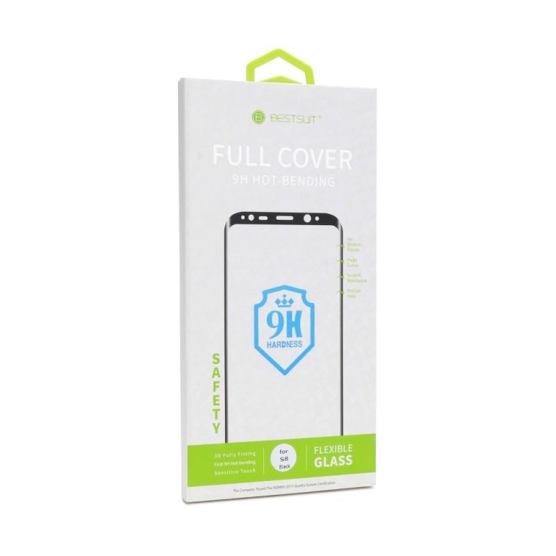 Samsung S10 Plus Película Protecção Nano Glass 5D Full Glue Preta