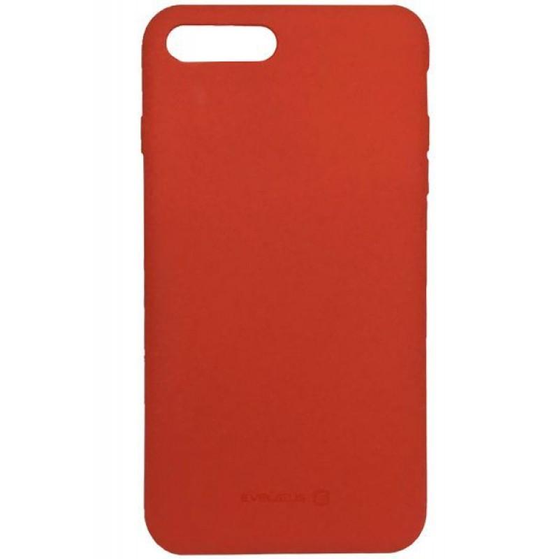 Samsung A6 2018 Capa de Proteção Traseira Evelatus Silicone Case Red