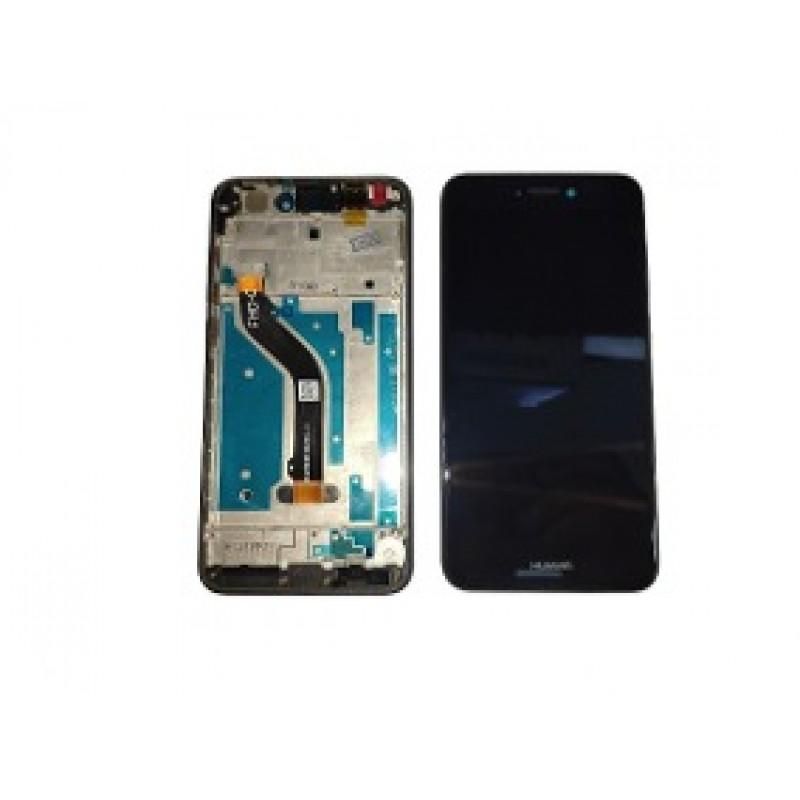Huawei P8 Lite 2017 LCD + Touch Preto C/Frame