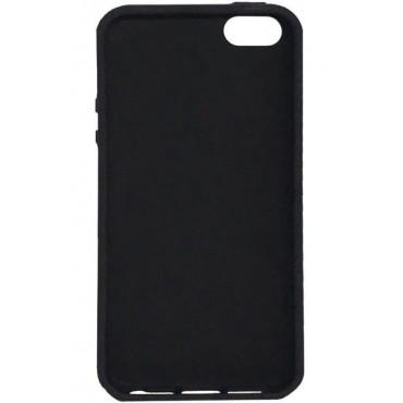 Xiaomi Redmi Note 7 Capa de Proteção Traseira Evelatus Silicone Case Black