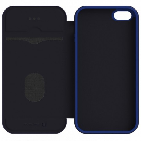 iPhone 7/8 Capa de Proteção Evelatus Book Case Dark Blue