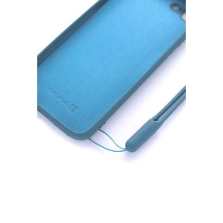 iPhone 7/8 Capa de Proteção Evelatus Soft Touch Silicone Blue